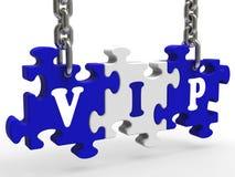 Le VIP montre le millionnaire de célébrité ou la personne importante illustration stock