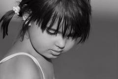 Le visage d'un enfant Photographie stock libre de droits