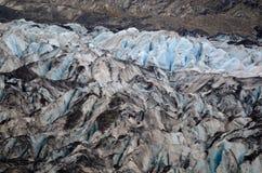 Le visage d'un glacier Image libre de droits
