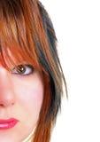 Le visage de jeunes femmes Photographie stock libre de droits