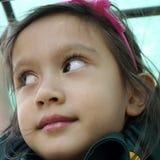 Le visage de l'enfant. Image libre de droits