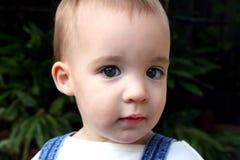 Le visage de l'enfant Image libre de droits