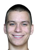 Le visage de l'homme de sourire Images libres de droits