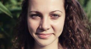 Le visage de la fille Photos libres de droits