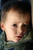 Le visage de petit garçon Images libres de droits