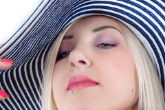 Le visage des femmes Photographie stock