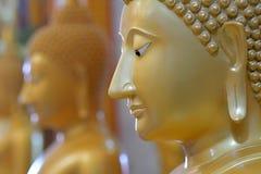 Le visage du Bouddha Photo stock