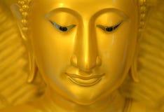 Le visage du Bouddha Photographie stock libre de droits