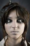Le visage du femme Photo stock