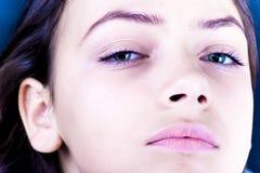 Le visage du femme Photo libre de droits