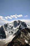Le visage du nord de la crête d'Orjonikidze Image stock