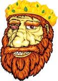 Le visage du roi du nain Photo libre de droits