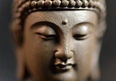 Le visage du zen de style du Bouddha illustration stock