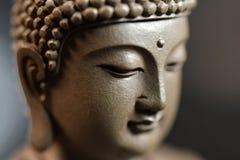 Le visage du zen de style du Bouddha illustration de vecteur