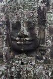 Le visage en pierre Photos libres de droits