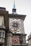 Le visage oriental du Zytglogge, Berne Images libres de droits