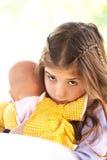 Le visage triste des enfants photos libres de droits