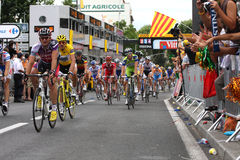 Le Visita de France 2009 - em volta de 4 Fotografia de Stock Royalty Free
