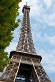 Le Visita Eiffel Imagens de Stock Royalty Free
