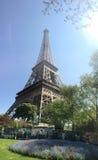 Le Visita Eiffel Fotografia de Stock Royalty Free