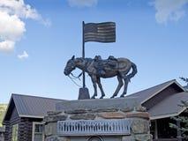 Le viste di Jackson Hole nel Wyoming Fotografie Stock