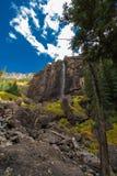 Le voile nuptiale tombe tellurure le Colorado Etats-Unis Images libres de droits