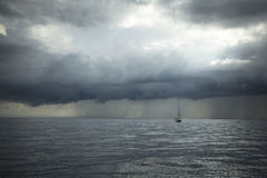 Le voilier participent à la régate le 11ème Ellada de navigation Photo stock