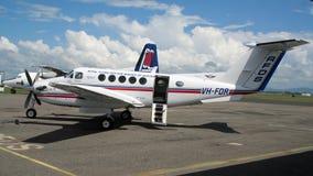 Le vol royal soigne l'avion de Service Image libre de droits