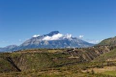 Le volcan d'Imbabura Image libre de droits