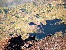 Le volcan de Pico Image libre de droits