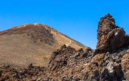 Le volcan de Teide Photo stock