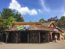 Le volet Shack au parc de lac Canobie Photographie stock