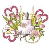 Le vostre nozze dolci Immagini Stock
