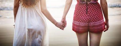 Le voyage d'amitié explorent le voyage de vacances détendent le concept Photo stock