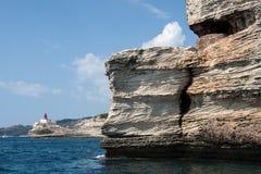 Le voyage de bateau autour de l'île de la Corse Photo libre de droits