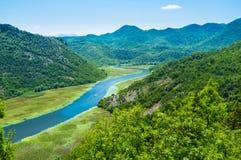 Le voyage de rivière Image libre de droits