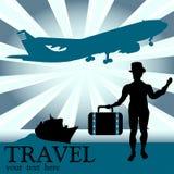 Le voyageur Image libre de droits