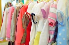 Le vêtement des enfants Photo libre de droits