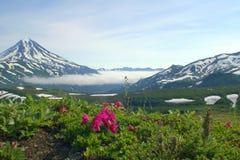 Le vulcan Image libre de droits
