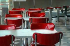 Le wagon-restaurant Photo libre de droits