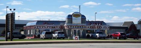 Le wagon-restaurant classique de Denny photo libre de droits