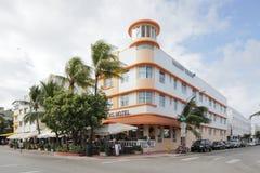 Le Waldorf domine plage de sud d'hôtel Images libres de droits