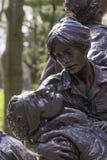Le Washington DC commémoratif des femmes du Vietnam Photographie stock libre de droits