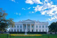 Le Washington DC de la Maison Blanche Image stock