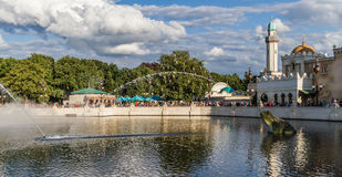 Le watershow d'Efteling - d'Aquanura Photo libre de droits