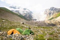 Le wint coloré de paysage d'été fleurit dans les montagnes de Geongia Photos stock