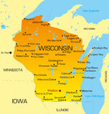 Le Wisconsin Photos stock