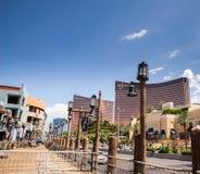 Le Wynn et l'hôtel et le casino de bis Image libre de droits