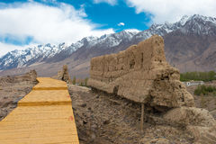 Le XINJIANG, CHINE - 21 mai 2015 : Site en pierre de ville de Tashkurgan a Images stock