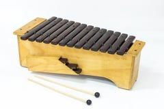 Le xylophone Image libre de droits